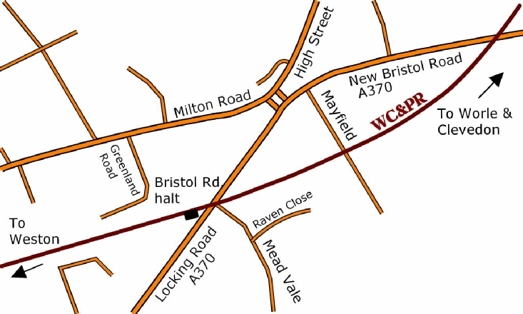 Bristol Road detail map