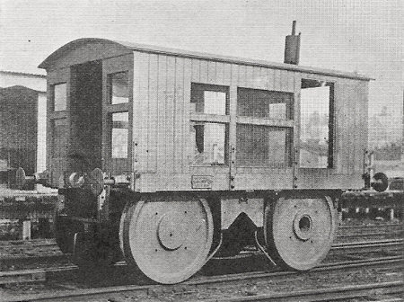 Second Muir-Hill rail-tractor