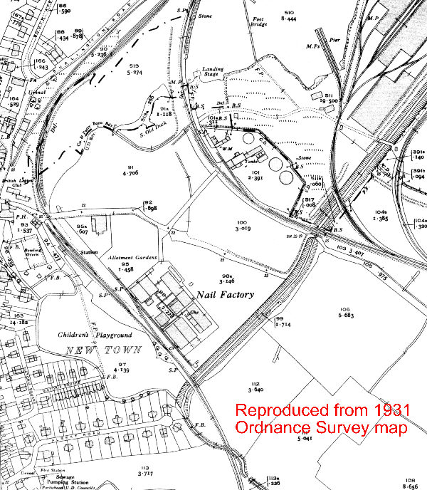 Portishead 1931 OS Map